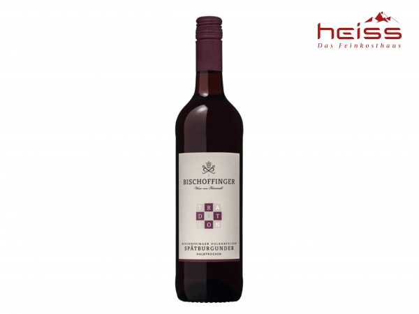 Spätburgunder Rotwein   halbtrocken   0,75 l