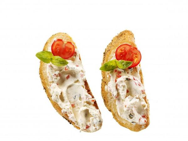 Tomaten-Basilikum-Frischkäse